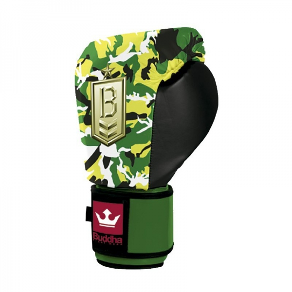 Buddha Guantes Boxeo Army Jungle