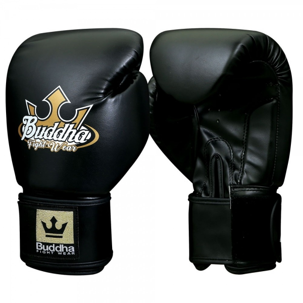 Buddha Guantes Boxeo Muay Thai Kick Boxing Baratos Fight X Negros