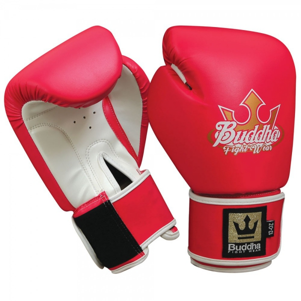 Buddha Guantes Boxeo Muay Thai Kick Boxing Baratos Fight X Rosas
