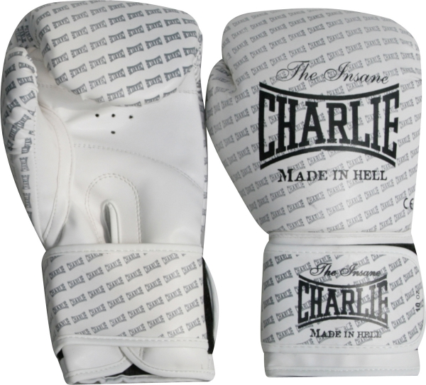 Charlie Guantes Boxeo Blast Blanco