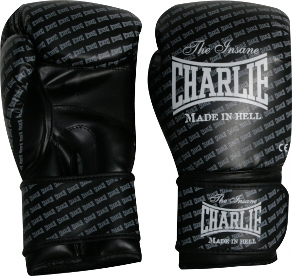 Charlie Guantes Boxeo Blast Negro