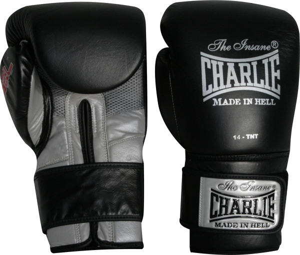 Charlie Guantes Boxeo Gel Negro