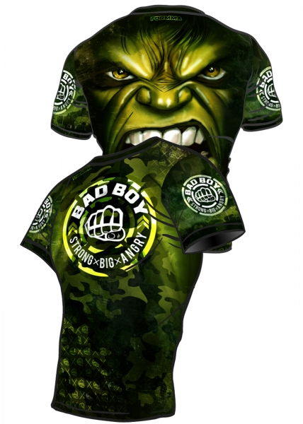 FORMMA Rashguard BAD BOY Green